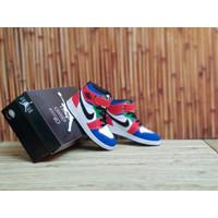 Sepatu Nike Air Jordan Anak High Merah Biru