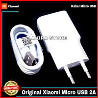 Charger Xiaomi Redmi 5A 6 6A 7A Original 100% Micro USB 2A