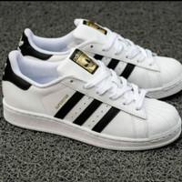 sepatu pria big size 44 45 46 47 48 Adidas superstar white