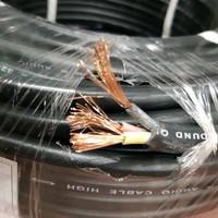 kabel listrik NYYHYO SERABUT PAJERO 3x2,5 satelit hitam PER METER