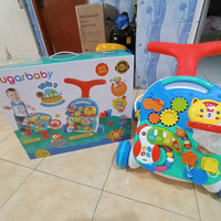 SBY Sugar Baby 10in1 Activity Table n Push Walker Sugarbaby Premium