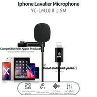 Microphone/Mic clip on lavalier Vlog Smule Hp Ipad Iphone use Only