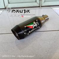Silencer Knalpot Racing Austin GP 1R Carbon