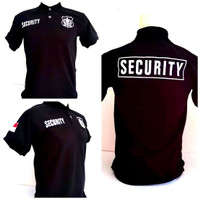 kaos Polo tshirt Security Khsus big size xxl xxxl xxxxl