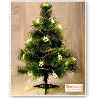 Pohon Natal Snow Pine 60cm Tebal