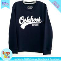 Logokids Kaos Anak Laki-Laki Lengan Panjang Oshkosh Navy 1-10 Tahun