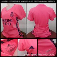 Jersey Ladies Real Madrid Away 2020/21 Baju Bola Cewek Tandang 2021