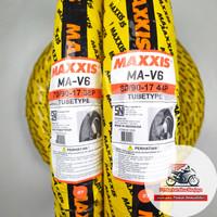 Sepasang Ban MAXXIS MA V6 70/90 & 80/90-17 Tubetype (Non Tubeless)