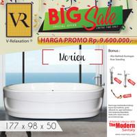 BIG SALE VR BATHTUB STANDING MORIEN WHIRLPOOL JACUZZI