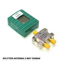 Splitter Antena 2 Way Taiwan / Spliter penguat TV 2 cabang Taiwan