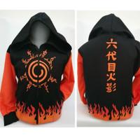 jaket anak boys Naruto kyubi