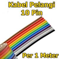 Kabel Pelangi 10 Pin 10P Jumper Rainbow Cable 10Pin Meteran