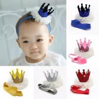 Bandana bayi mahkota / bando bayi mahkota crown