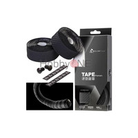 CICLOVATION Premium Bar Tape With 3D Carbon Touch - Black
