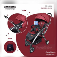 [Baby Elle] Stroller Baby Avio RS Revesible/ Handle Bisa 2 Arah