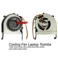 Cooling Fan Kipas Laptop Toshiba C800 C805 C840 L800 L805 L840 M80