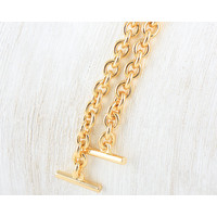 Sling Bag Chain with T-hook (gold) - 90cm