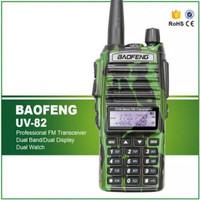 Jual Handy Talky Baofeng UV82 Loreng HT Baofeng Uv82 Army Berkualitas