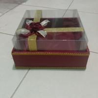 kotak kue ukuran 25 x25