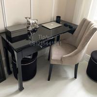 1 set meja kantor kursi modern/ kursi kantor jati/ minimalis meja
