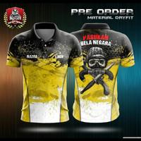 T-Shirt Jersey Printing Pasukan Bela Negara