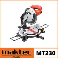 Maktec MT230 / MT 230 Mesin Potong Alumunium / Miter Saw