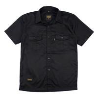 BASIC BLACK-Kemeja / Baju Kerja Lapangan Nyaman Dipakai by ENGINEER - M