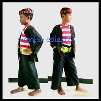 Baju Adat Madura/sakera Anak komplit
