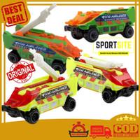 Hot Wheels Runway Res-Q Die Cast Collection Koleksi Mobil Truk Pemadam