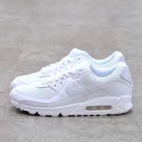 Nike Air Max 90 Triple White 100% Authentic - 41