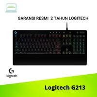 Logitech G213 Gaming Keyboard RGB ORIGINAL 100%