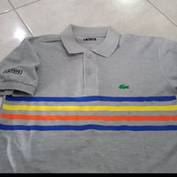 Polo Shirt Kaos Baju pria 3xl 4xl xxxl xxxxl jumbo Lacoste