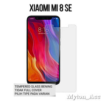 Clear Tempered Glass Xiaomi Mi8 SE Mi 8 SE New Anti Gores Kaca 9H