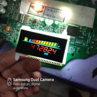 LCD Vario 125 old Warna warni