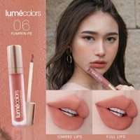 Lipstik lipmatte lipcream 3 in 1 Lumecolors velvet lip & cheek mousse