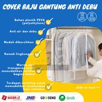 Cover Pakaian Gantung Jumbo Sarung Baju Jas Tuxedo Cover anti Debu