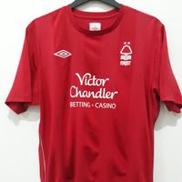 Jersey kaos baju bola asli original Nottingham Forest 2010