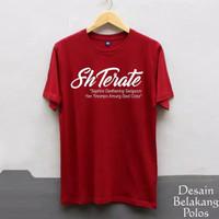 kaos Tshirt Baju SH Setia Hati Terate / PSHT / Kaos Pria