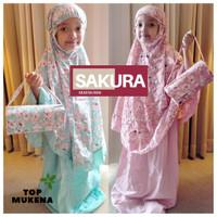 Mukena Anak Sakura Jepang Bali Katun Rayon
