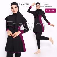 Baju renang wanita muslimah baju renang wanita dewasa muslimah - Z15, M