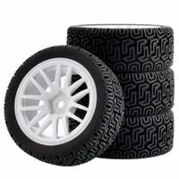 1pcs velg + ban onroad rally RC 1/10 ZD wltoys 144001 HSP vortex hpi