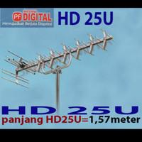 antena digital analog uhf pf hdu 25 hd u25 anten tv led lcd