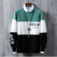 Baju Kaos Pria Lengan Panjang Premium Atasan Cowok Onrus Kombinasi