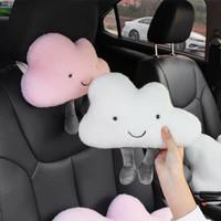 S - Mobil Bantal Motif Awan Lucu Car Pillow Cute Cloud Motif