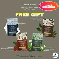 (Free Gift) Crushlicious Face Mask Organic Masker Wajah Organik