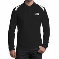 Polo shirt Kaos Polo Pria T Shirt Kaos Baju Kerah Lengan Panjang TNF