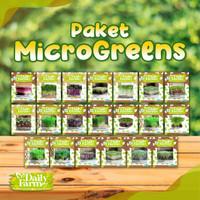 Paket Benih Microgreens 20 Jenis - Daily Farm