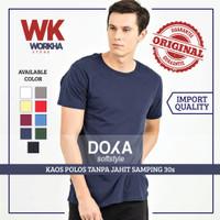 Kaos Polos Tanpa Jahitan Samping - Doxa 30s - Kualitas Import
