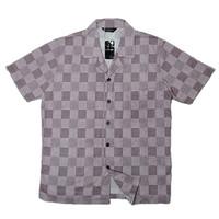 Mine game's loopcollar overcheck shirt