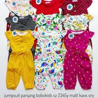 Baju Anak Perempuan /JUMSUIT BOBOKIDS panjang